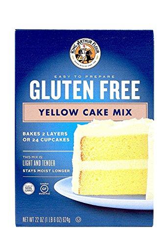 King Arthur Gluten-free Yellow Cake Mix 2 Pack