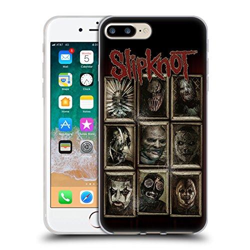 Official Slipknot Masks Key Art Soft Gel Case Compatible for iPhone 7 Plus/iPhone 8 Plus]()