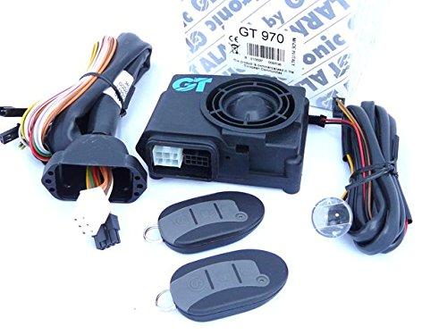 Alarma moto GT970, profesional, bajo consumo, con esquema electrico en Españ ol con esquema electrico en Español getronic