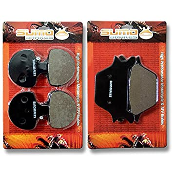 Amazon com: Sumo - Harley F+R Brake Pads Dyna Series FXD