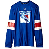 adidas NHL Mens Silver L/S Jersey Tee