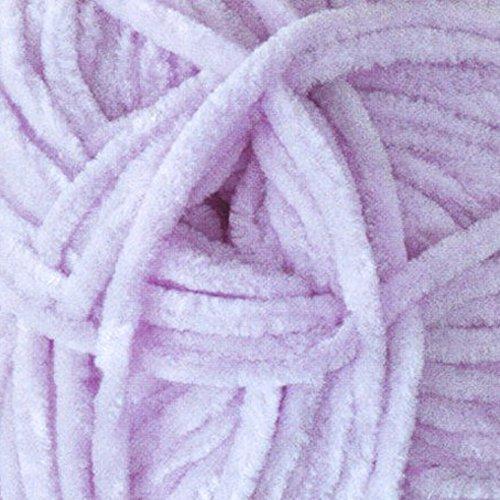 James Brett Flutterby Super Soft Chunky Knitting Wool Craft Toy Yarn 100g Ball (Lilac - B10)