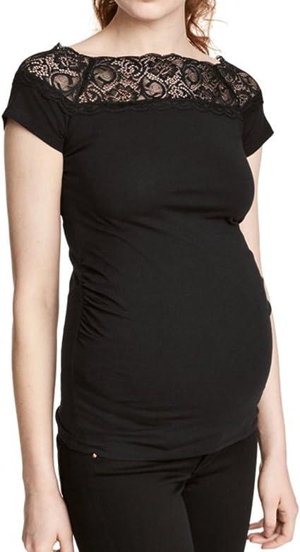 WEIMEITE Embarazo Ropa Tallas Grandes Blusas Embarazadas Camisas ...