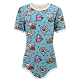 The Littlest Gift Shop Adult Baby Little Kitten Snap Crotch ABDL Onesie Romper