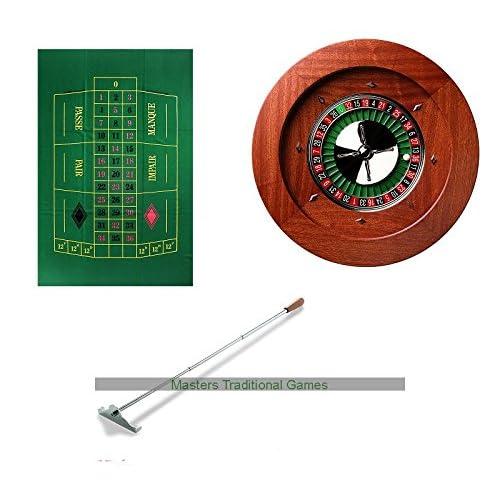 Premium Dal Negro Roulette Bundle (Montecarlo curved)