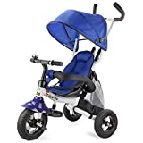 Best Baby Bike Strollers - Costzon Baby Tricycle, 6-in-1 Steer Stroller, Learning Bike Review