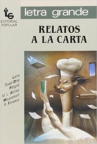 Amazon.com: Relatos a la carta / A la Carte Tales (Letra ...