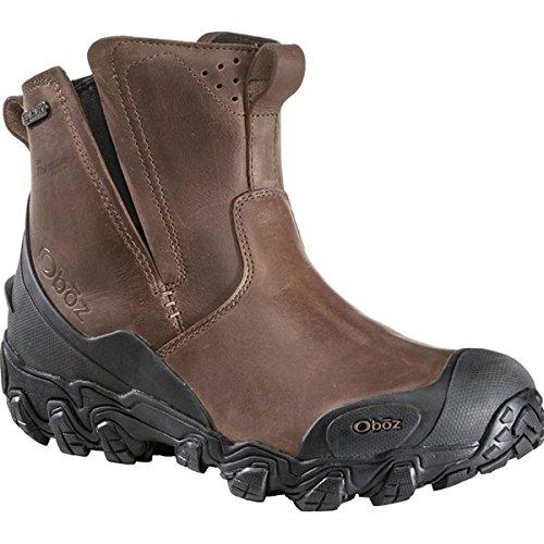 Oboz Men's Big Sky Insulated Slip-On Hiking Boot,Saddle Brown,US 12 M
