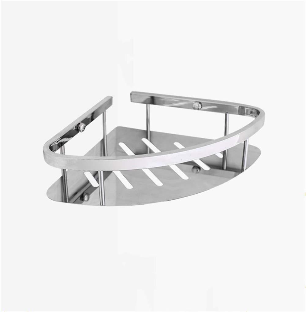 Debaoniu Bathroom Shelf 304 Stainless Steel Polished Chrome Shower Shelf, Basket Holder For Bathroom And Kitchen