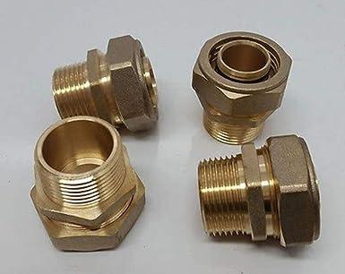 "1//2/"" PEX-AL-PEX Compression x Male Threaded Brass Adapter Fitting"