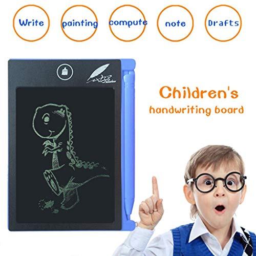 Kizaen LCD Writing Tablet,Electronic Writing &Drawing Board Doodle Board,Handwriting Paper Drawing Tablet Gift for Kids and Adults 4.4 Inch