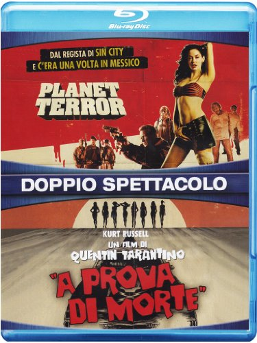 planet terror / grindhouse (2 blu-ray) box set blu_ray Italian Import