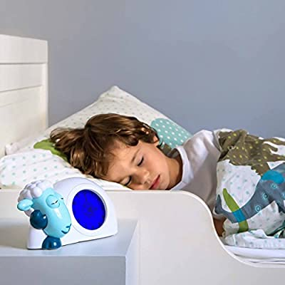 Zazu Kids Sam Sleep Trainer Alarm Clock and Nightlight