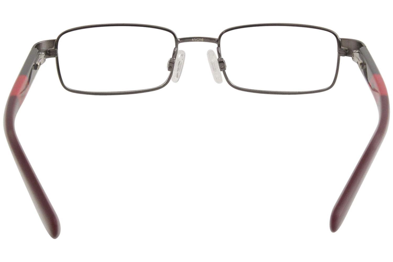Eyeglasses NIKE 5573 075 GUNMETAL-CHALLENGE RED