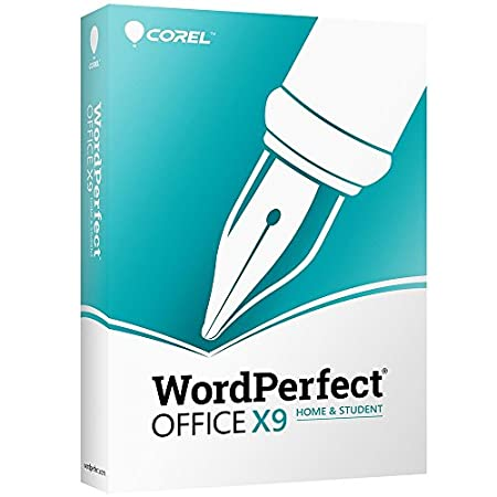 Corel WordPerfect Office X9 Home & Student Edition for PC