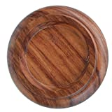 WOGOD Grand Piano Caster Cups Solid wood Caster Non-Slip Pad (Rosewood PA-22)