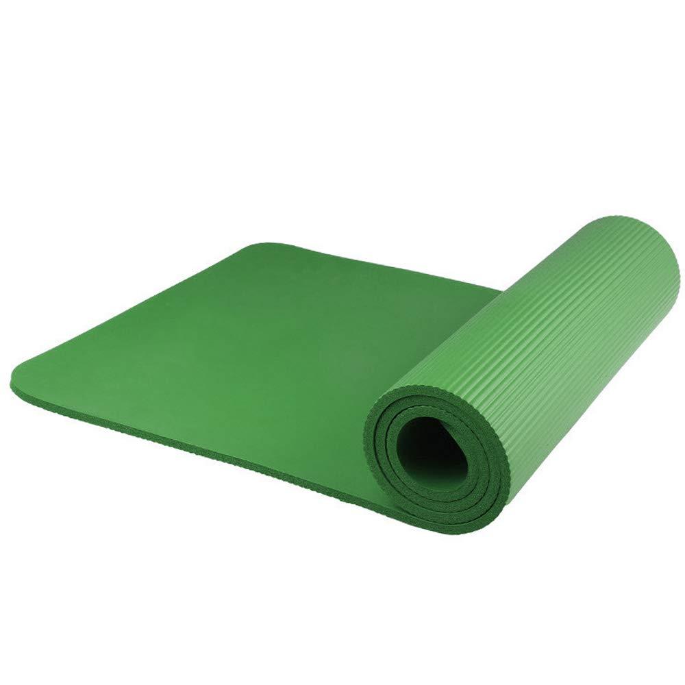 Lixada Esterilla de Yoga Antideslizante NBR Material Medioambiental con Bolsa Cuerda para Fitness Pilates Gimnasio 186 61 cm
