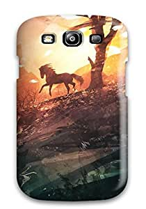 Excellent Galaxy S3 Case Tpu Cover Back Skin Protector Horse