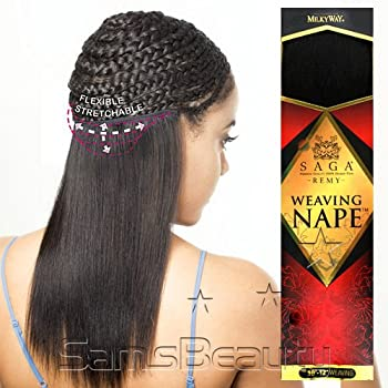 "SAGA Remi Human Hair Weave Nape [12""-14""] (1)"