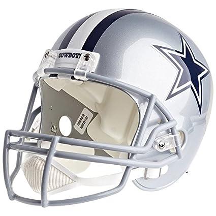 0332cc2f5 Amazon.com : Dallas Cowboys Officially Licensed VSR4 Full Size Replica Football  Helmet : Sports & Outdoors