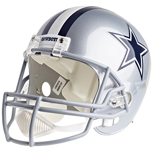 Dallas Cowboys Officially Licensed VSR4 Full Size Replica Football Helmet by Riddell