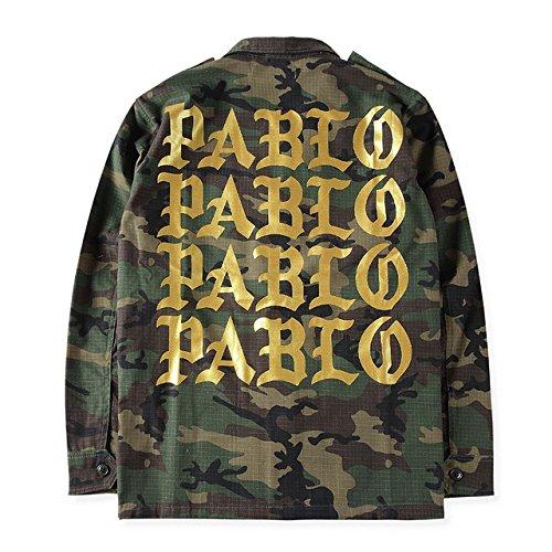 Pablo Camo Jacket Large