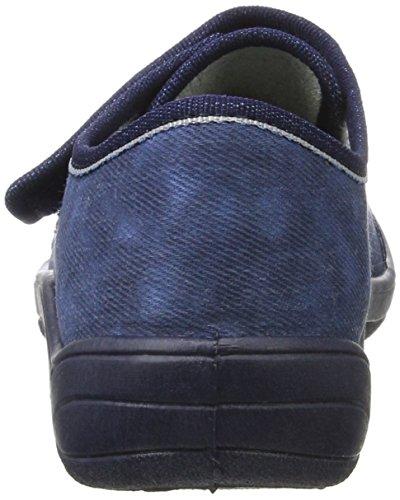 Fischer Tim 201645, Zapatillas Para Niños, Azul (Jeansblau), 33 EU