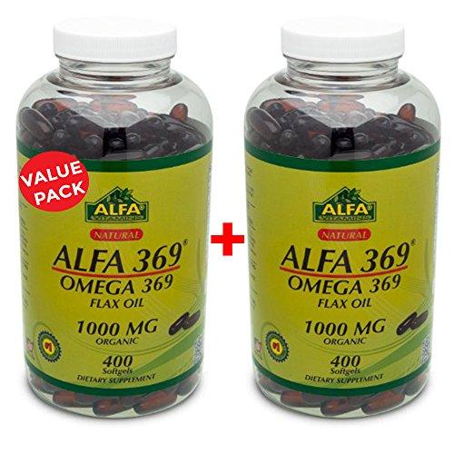 Organic Flaxseed Oil Alfa 369 product image