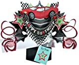 THE ORIGINAL POP UPS - 006 - CAR - BIRTHDAY CARD