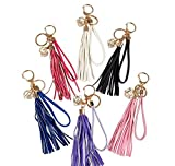 10.5'' JEWEL TASSEL CLIP-ON KEYCHAINS, Case of 288