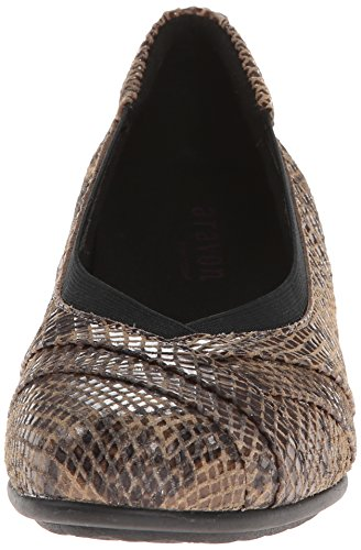 Dress Pump Patsy AR Women's Aravon Snake Taupe wxCU1Hq