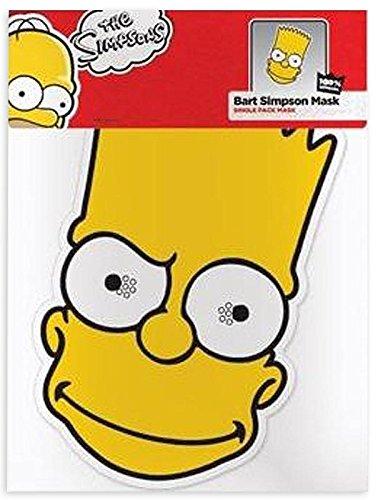 Máscara Bart de cartón para fiestas Los Simpsons - Barthttps://amzn.to/2SX2ZxI