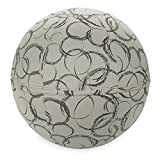 Gaiam Balance Ball Chair Cover, Slate