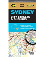 Sydney City Streets & Suburbs Map 262 8th ed waterproof