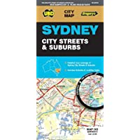 Sydney City Streets & Suburbs Map 262 8th ed waterproof