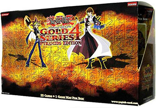 YuGiOh 5Ds Gold Series 4 Pyramids Edition Booster Box 5 Packs