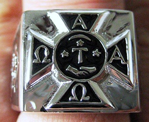 Alpha Tau Omega Creat Ring 12 Amazon Jewelry