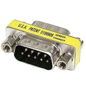 Cables To Go - Adaptador para cable DB9 (macho/macho)