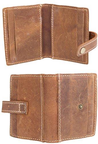 Yuhan Pretty Rfid Credit Card Wallet Holder Leather Slim Bifold Pocket Wallet