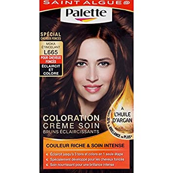 saint algue palette coloration moka tincelant l665 la boite de 115 ml - Coloration Moka