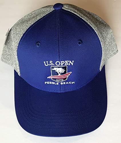 2019 U.S. Open golf trucker hat pebble beach royal blue meshback new pga ()