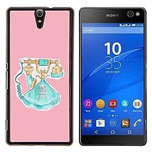 Dragon Case - FOR Sony Xperia C5 Ultra - make sure you know - Caja protectora de pl??stico duro de la cubierta Dise?¡Ào Slim Fit