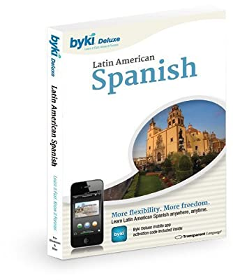 Byki Spanish (Latin American) Language Tutor Software & Audio Learning CD-ROM for Windows & Mac
