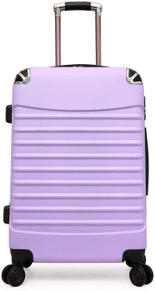 MLGB Trolley caseRolling Spinner Equipaje Maleta de Viaje Mujer Trolley Case con Ruedas 20 Pulgadas de embarque Carry On Box Laptop Business Bolsas de Viaje 24