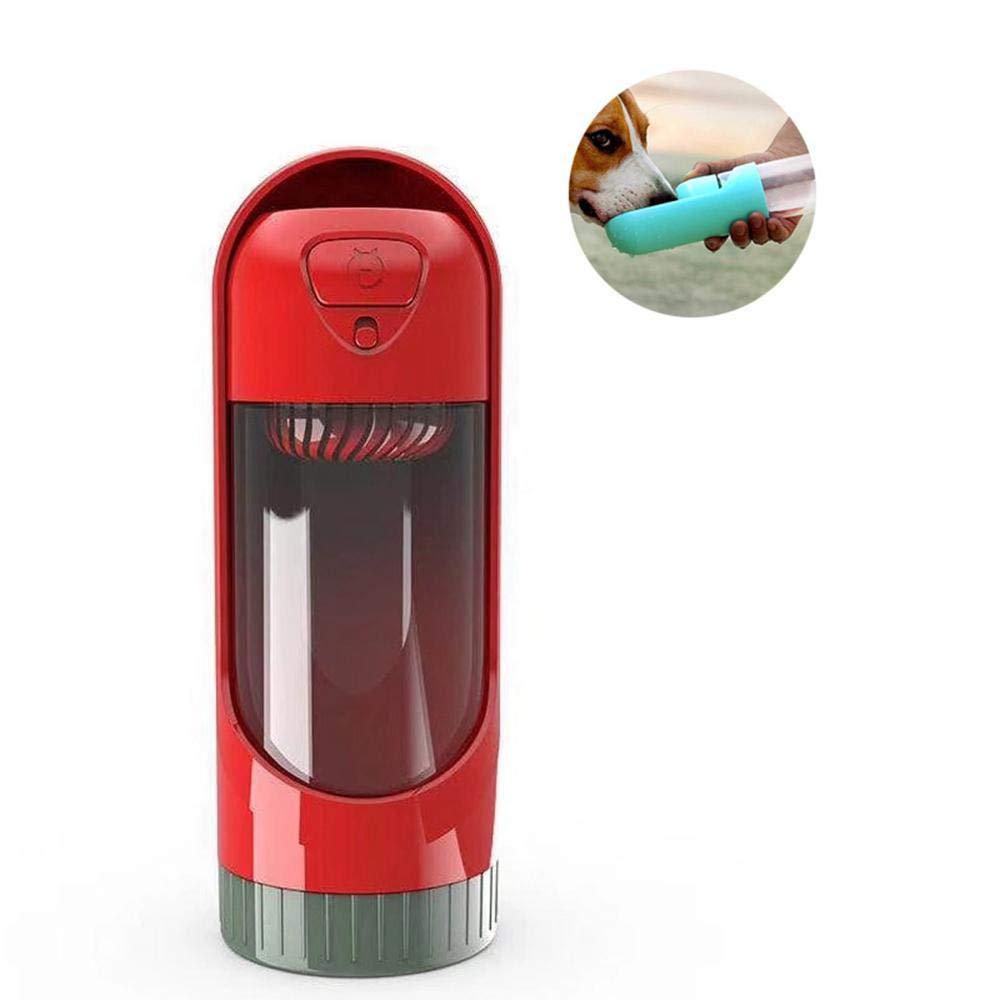 FOONEE Botella Portátil de Agua para Perro, 300 ML Dispensador de ...