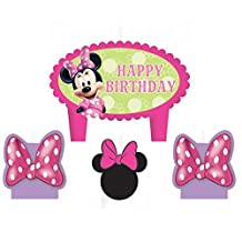Minnie Mouse Candle Set 4ct