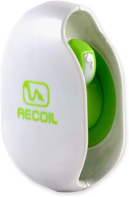 Recoil Automatic Cord Winder for Headphones and Earbuds. No More Tangled Headphones