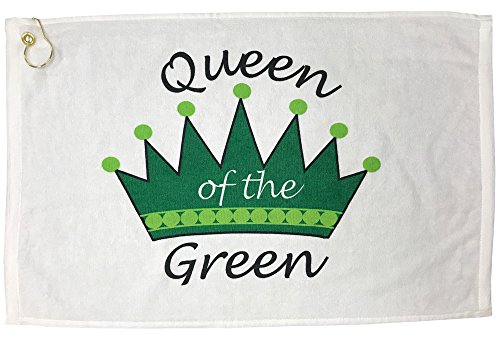 Giggle Golf Queen Of The Green Golf Towel Diva Golf Stand Bag