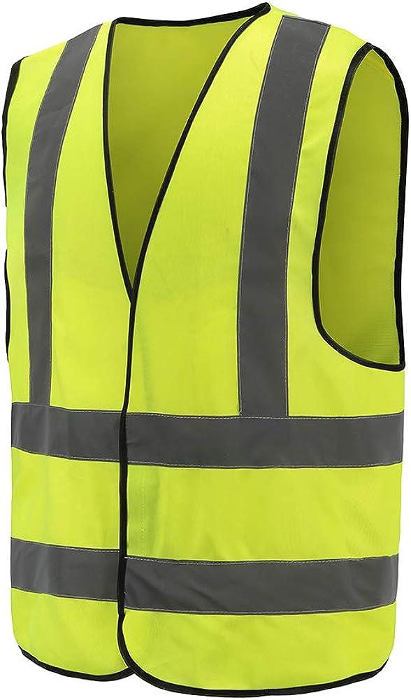 M-3XL 8 Colors Optional Reflective Vest High Visibility hi viz vis Executive Waistcoat
