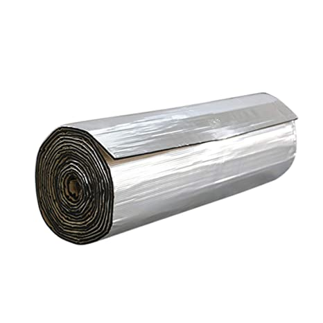 uxcell 197mil 5mm 31.96sqft Car Heat Sound Deadener Insulation Mat Liner 118 x 39